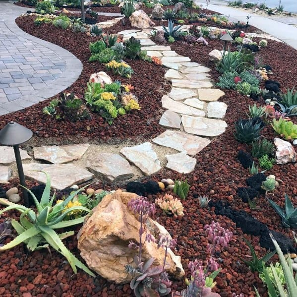 Unique Flagstone Walkway