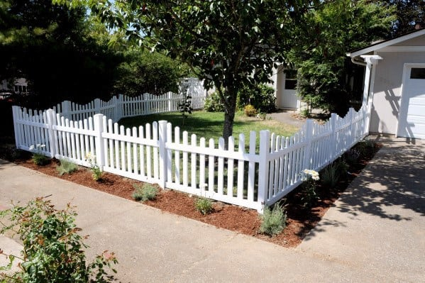 Unique Front Yard Fence Designs
