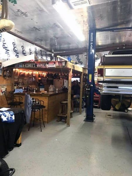 Top 50 Best Garage Bar Ideas - Cool Cantina Workshop Designs