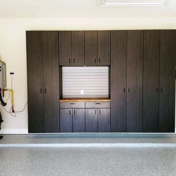 Unique Garage Cabinet Designs