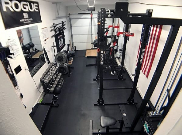 Garage gym tour training tips rogue elitefts repfitness