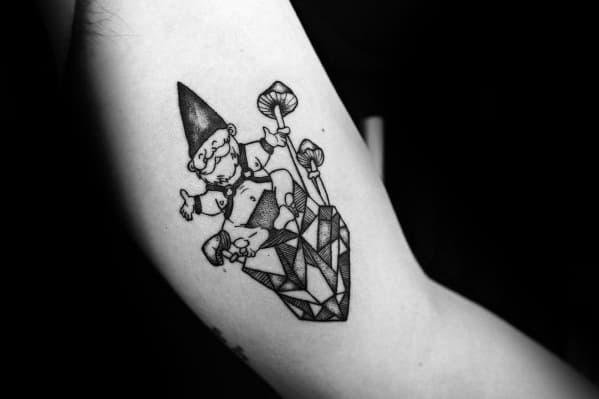 Unique Gnome Tattoos For Men