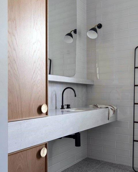 Unique Grey Bathroom Designs