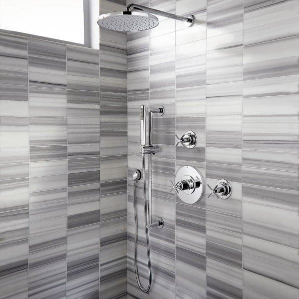 Unique Grey Bathroom Tile