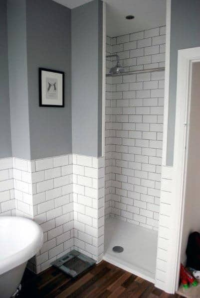 Unique Grey Bathrooms