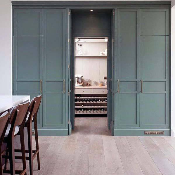 Unique Hidden Doors Kitchen Pantry