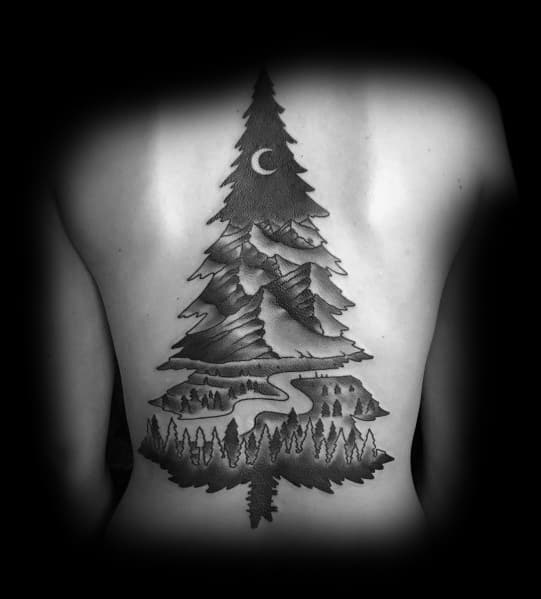 Unique Hiking Tattoos For Men