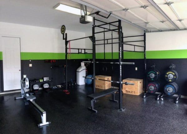 Unique Home Gym Flooring Designs