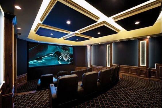 Unique Home Theater Lighting