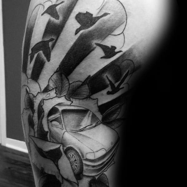 Unique Honda Tattoos For Men