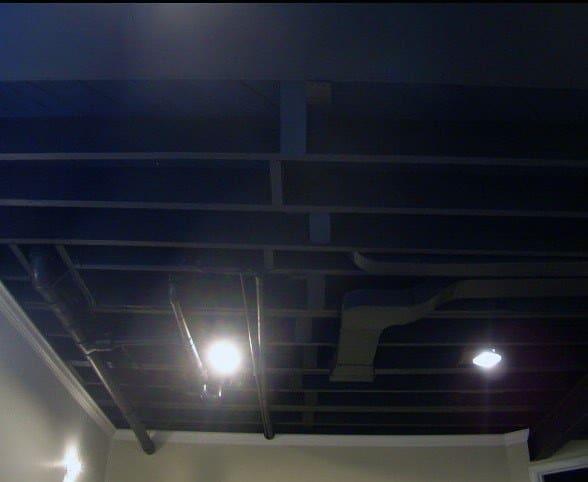 Unique Ideas For Basement Ceilings