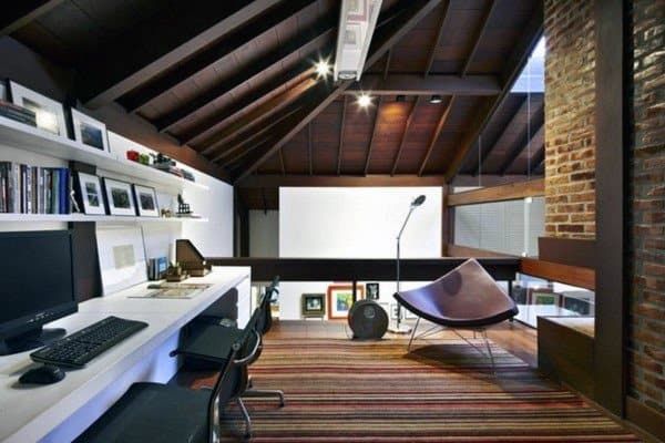 Unique Interior Designs Modern Home Office