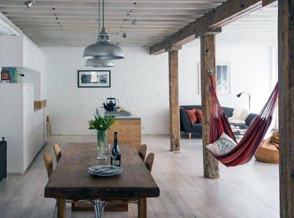 Unique Interior Indoor Hammock Designs