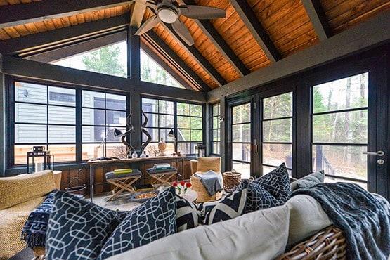 Unique Interior Sunroom Designs