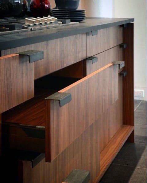 Unique Kitchen Cabinet Hardware Designs