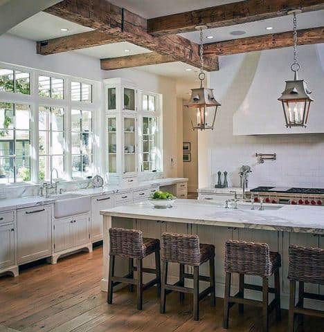 Lovely Unique Kitchen Ceiling Designs