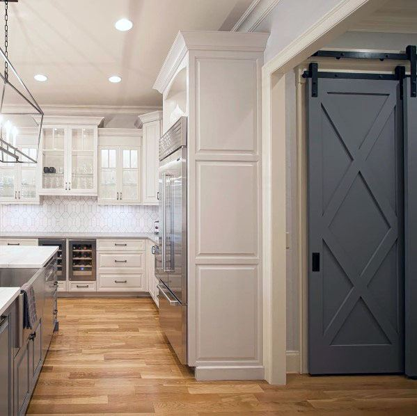 Unique Kitchen Pantry Door Designs
