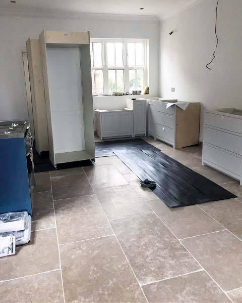 Unique Kitchen Tile Floor Home Ideas