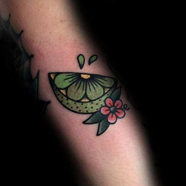 Unique Lime Tattoos For Men
