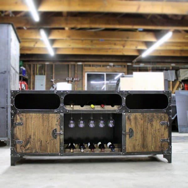 Unique Man Cave Furniture Ideas Industrial Bar