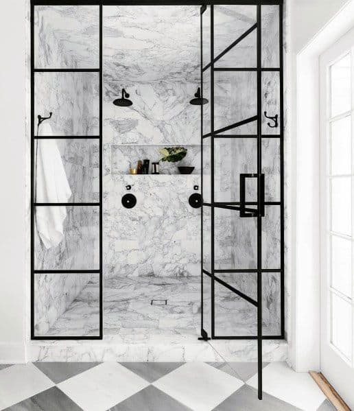 Unique Marble Bathroom