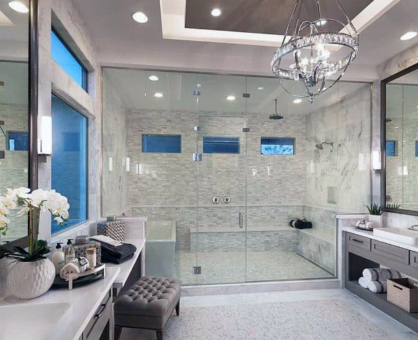 Unique Master Bathrooms