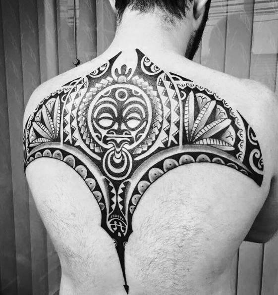 Unique Mens Animal Tribal Tattoos