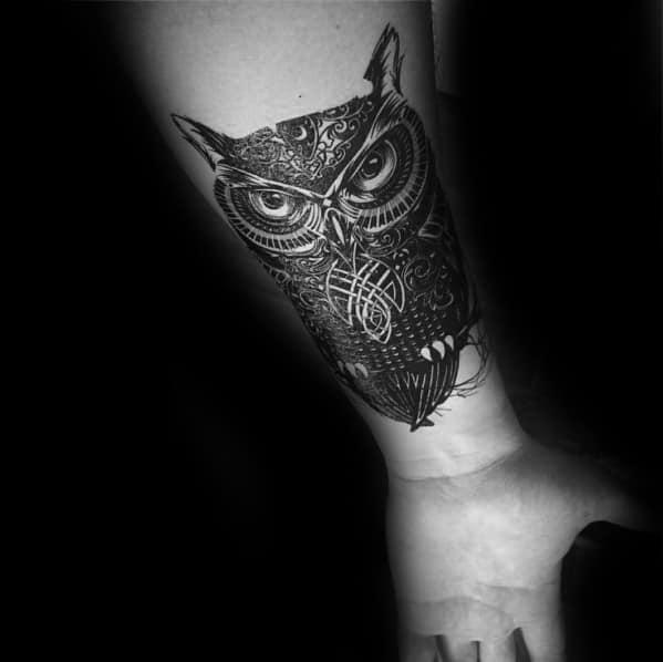 30 Celtic Owl Tattoo Designs For Men Knot Ink Ideas