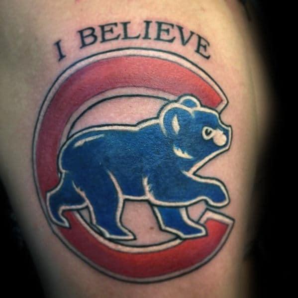 Unique Mens Chicago Cubs Tattoos