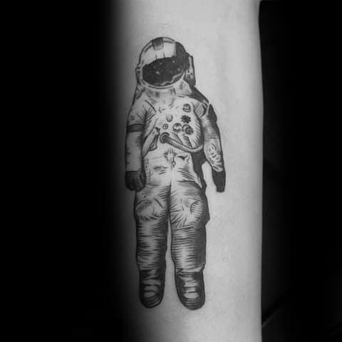 Unique Mens Deja Entendu Tattoos