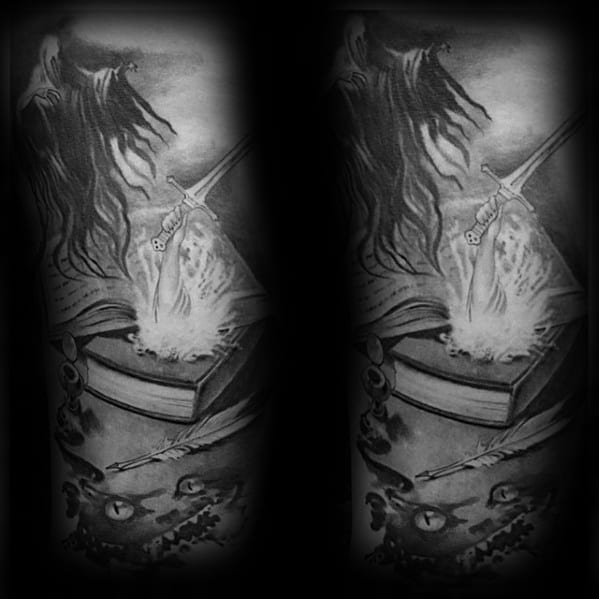 Unique Mens Dementor Tattoos