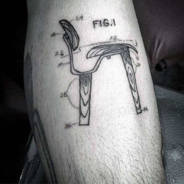 Unique Mens Engineering Tattoos