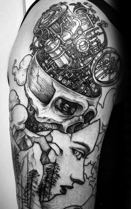 Unique Mens Esoteric Tattoos