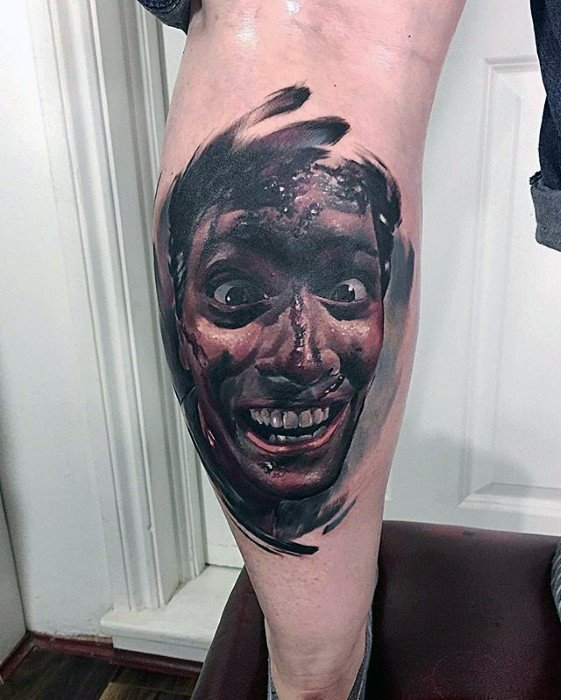 Unique Mens Evil Dead Tattoos