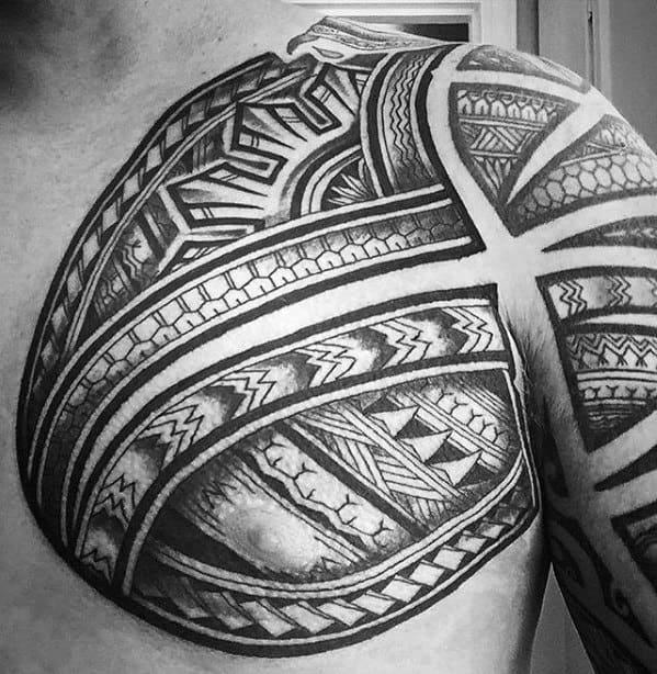 Unique Mens Filipino Sun Tattoos