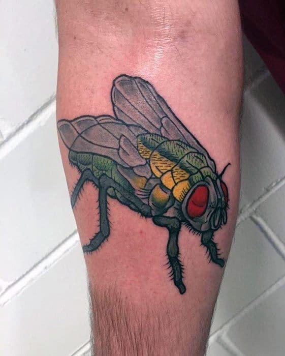 Unique Mens Fly Tattoos