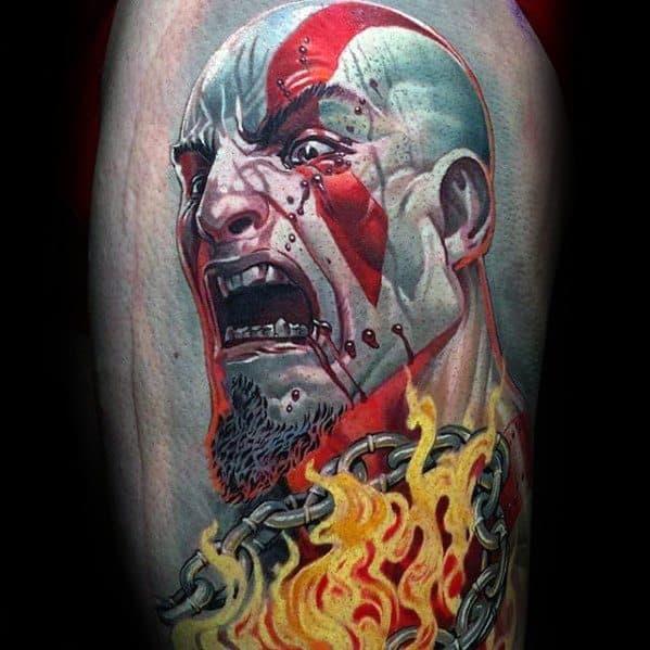 Unique Mens Gamer Tattoos