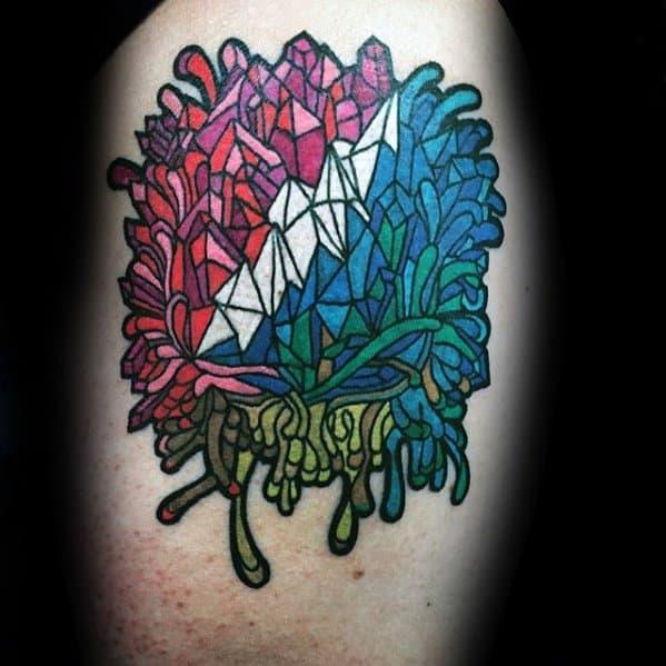 Unique Mens Grateful Dead Tattoos On Arm
