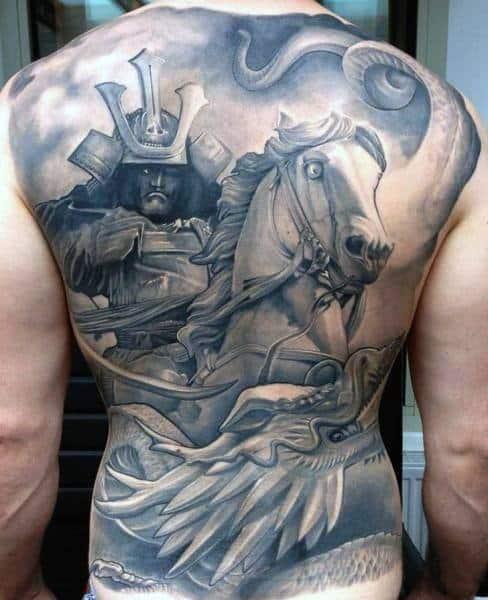 Unique Mens Horse Tattoos
