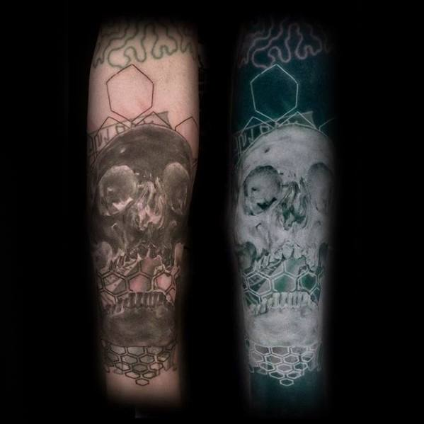 Unique Mens Inverted Tattoos
