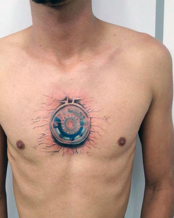 70 Iron Man Tattoo Designs For Men - Tony Stark Ink Ideas