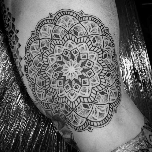 Unique Mens Mandala Tattoos
