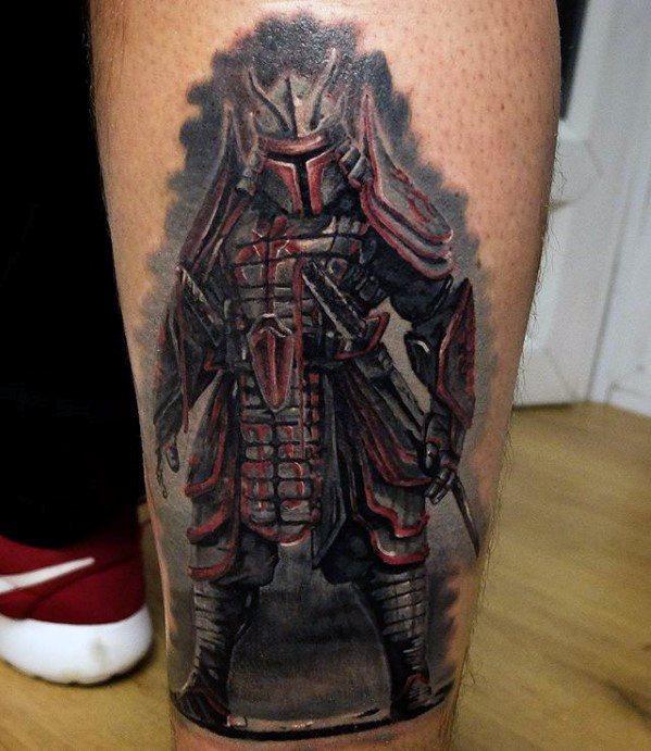 Unique Mens Mandalorian Tattoos