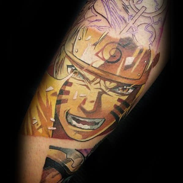 Unique Mens Naruto Tattoos