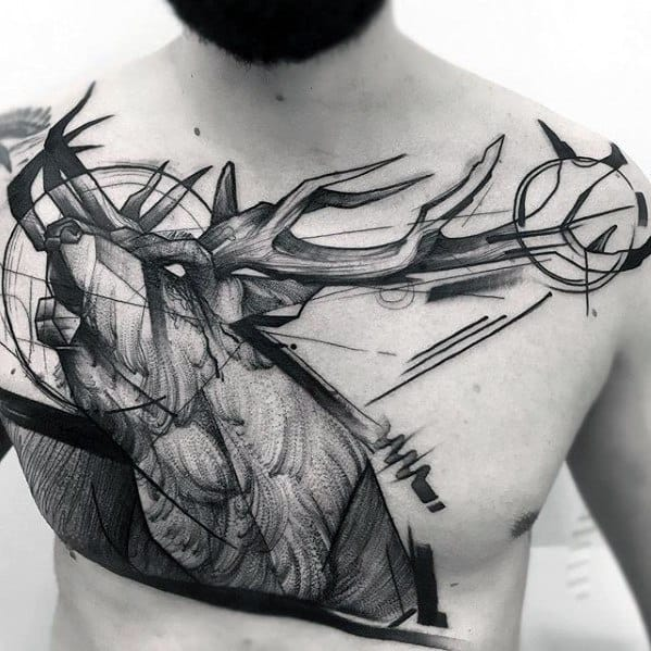 Tato Art Styles: 60 Sketch Tattoos For Men