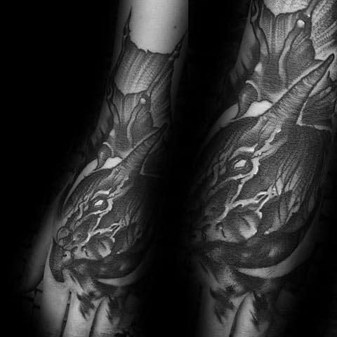 Unique Mens Thestral Tattoos