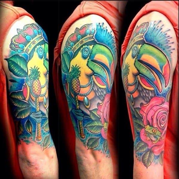 Unique Mens Toucan Tattoos