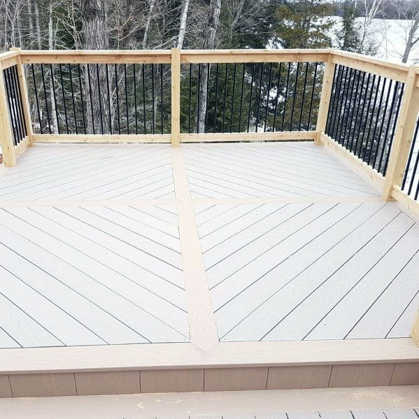 Unique Metal Deck Railing Home Ideas