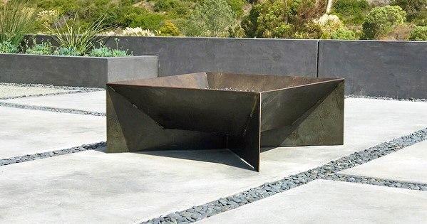Unique Metal Fire Pit Designs