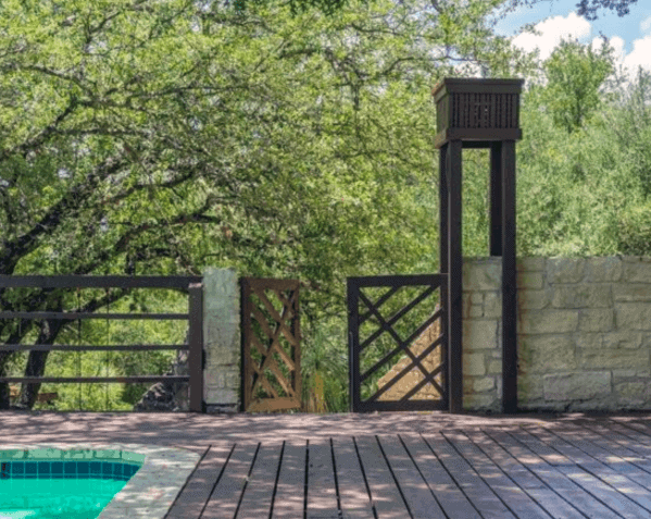 Unique Modern Deck Gate Home Ideas